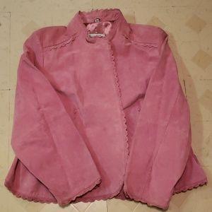 Pamela McCoy collections pink blazer 3X